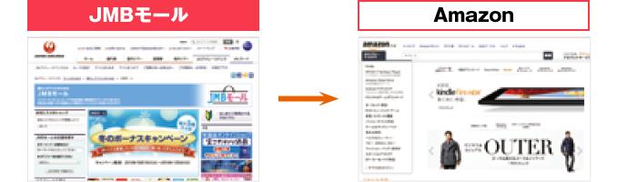 JMBモール→Amazon